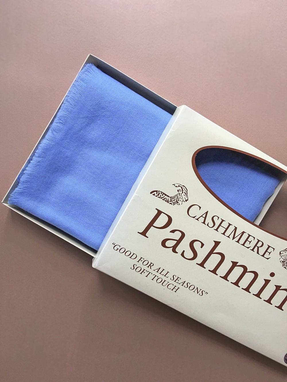 Палантин из 100% Пашмины - мягкого золота Индии