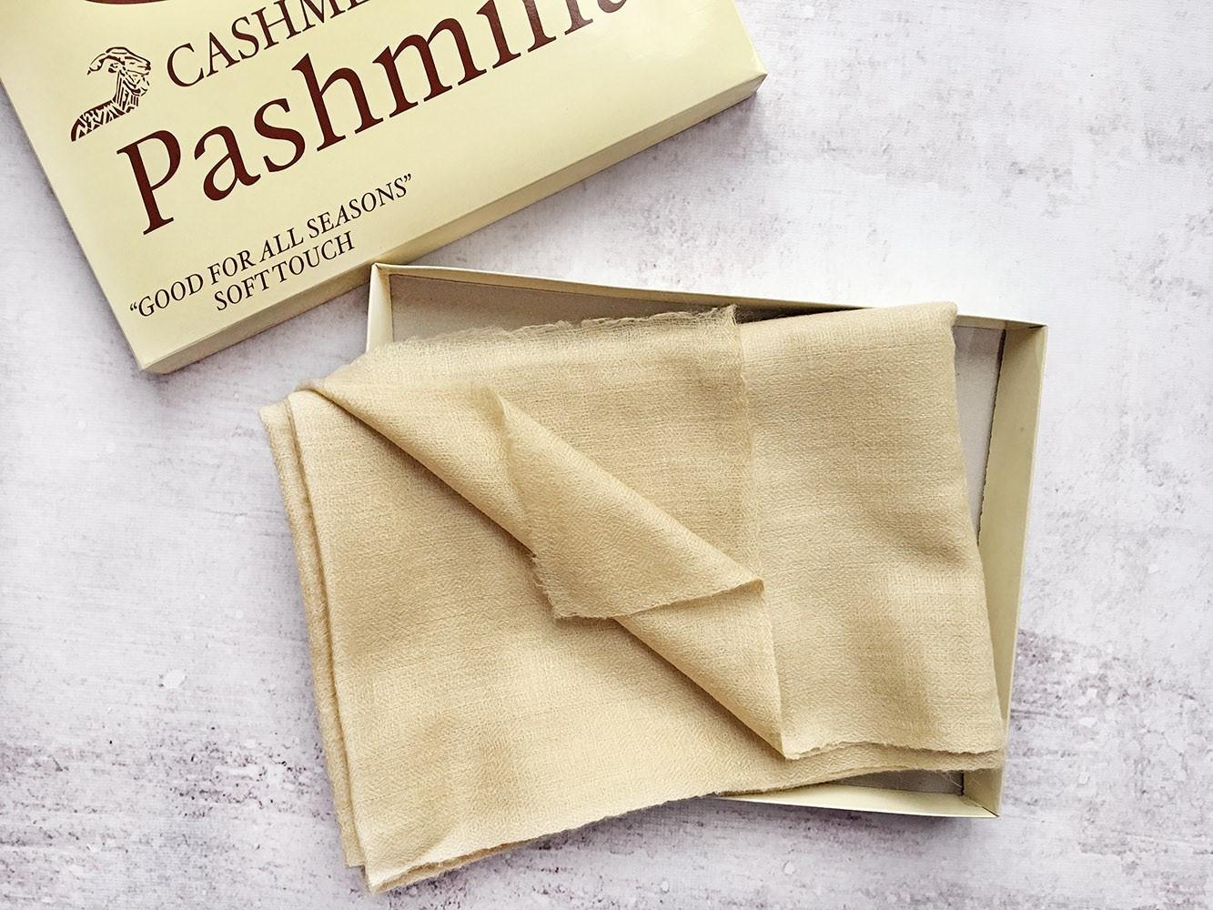 Палантин из тонкой и мягкой 100% Пашмины
