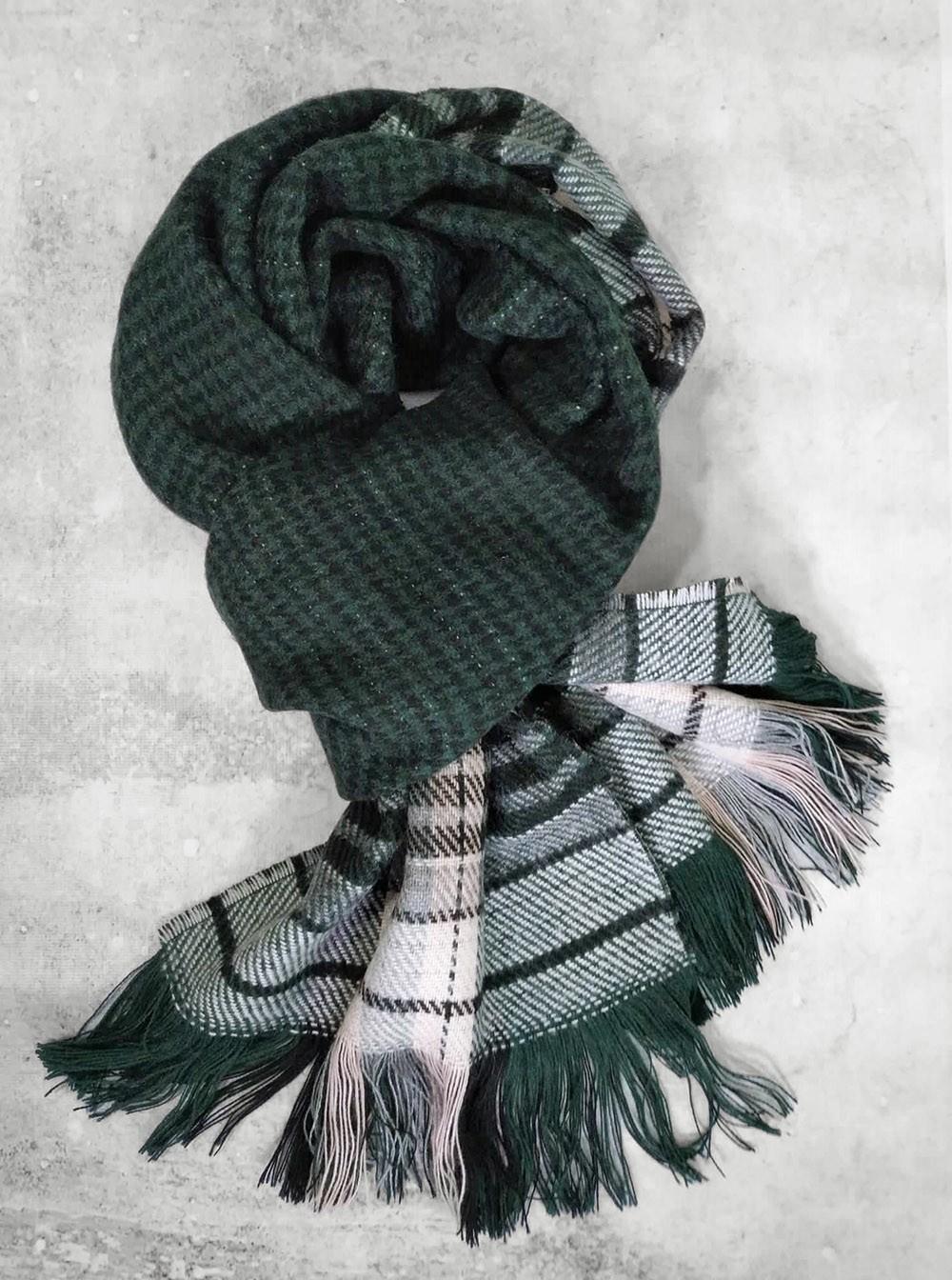 Двусторонний шарф для мужчин